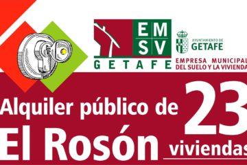 """Alquiler de viviendas VPPL """"El Rosón"""""""
